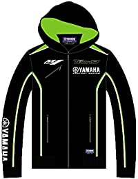 Monster Tech3 17T3YAM-KH1 Sweat-Shirt Mixte Enfant, Noir/Vert, FR : 12-13 Ans (Taille Fabricant : 12-13 Ans)