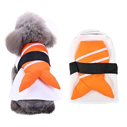 Niedliche Sushi Kostüm - Haustierkleidung, lustige Cosplay Parteien Paraden Sushi