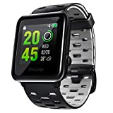 GPS Watch, WELOOP Smart Sport Watch 50-METER Waterproof for Swimming Running 30-DAY Ultra-Long