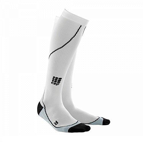 CEP Progressive Running Socks, White, Women, IV women / 39-44 cm
