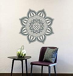 Stil Mandala Wandtattoo ägyptische Kultur Muster Blume Flora Vinyl abnehmbare Yoga Studio Wandbild Qualität Dekoration Los Angeles