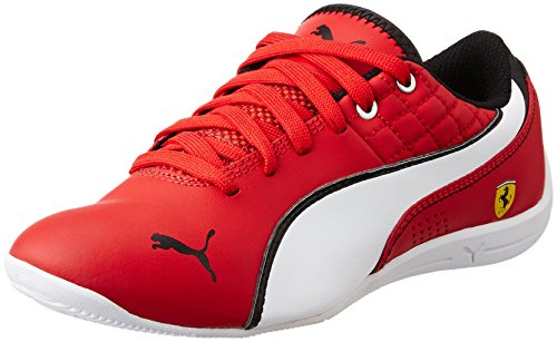 Puma Drift Cat 6 L NM SF Jr Unisex-Kinder Sneakers Rot (rosso corsa-white-rosso corsa 03)