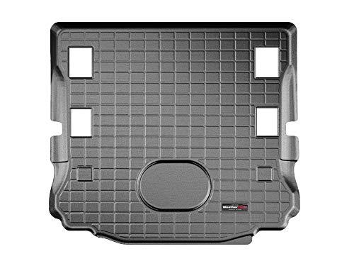 WeatherTech CargoLiner kompatibel für Jeep Wrangler JK bedeckt die 2. Sitzreihe (Hinweis) 2015-18 Schwarz -
