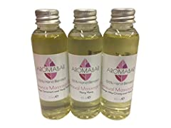 Idea Regalo - Romantica Olio Da Massaggio Set Regalo 3 x 60ml Sensuale Aromaterapia