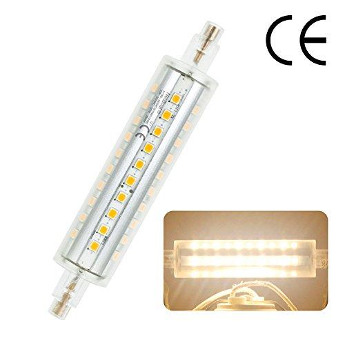 NetBoat R7S LED 118mm 10W J118 LED Lampen Flutlichtlampe non-dimmbar, 900-1000LM, 100W Halogenlampe gleichwertig, warmweiß 3000K, 220V-240V, 360 ° Abstrahlwinkel