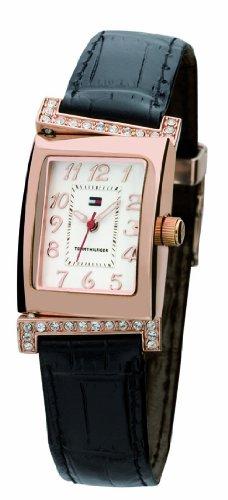 Tommy Hilfiger 1780666 - Reloj de mujer de cuarzo, correa de piel color marrón
