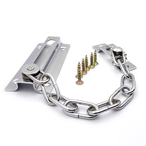 TRIXES solide silberne Tür Sicherheitskette