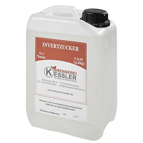 Invertzucker - Flüssigzucker 3 Liter (4,2kg) 72,7%mas.