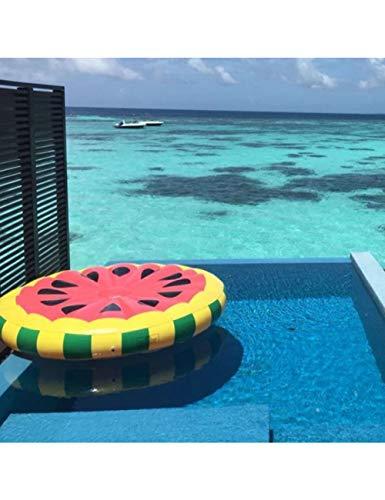HGHFH Schwimmende Reihe Riesen Pool Float Aufblasbare Faule Luftmatratze Bett Schwimmring Feamle Schwimm Reihe Wasser Spaß Spielzeug Schwimmen Runden, -