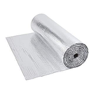 Double Aluminium Single Bubble Foil Wrap Insulation (1.2x10m)