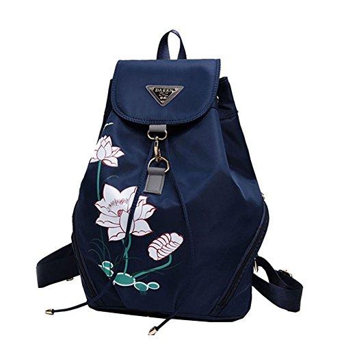 Ankena , Damen Rucksackhandtasche dunkelblau