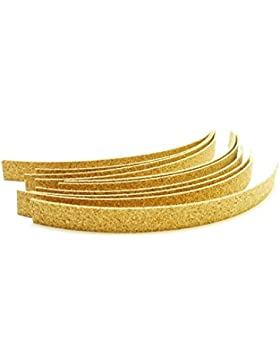 Juego de tiras de corcho para un mejor ajuste del sombrero (8 unidades, autoadhesivas) Tiras de corcho autoadhesivas
