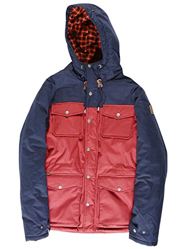 Element Herren Winterjacke Hemlock Crimson Red