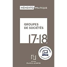 MEMENTO GROUPES DE SOCIETES 2017-2018