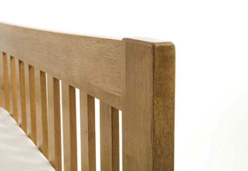 Furniture Expressions Serene Mya 6FT Super King Size - 180cm Hevea Bed - Honey Oak