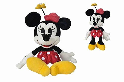 Disney Peluche Minnie Retro 25 CM, 5875722, Multicolore