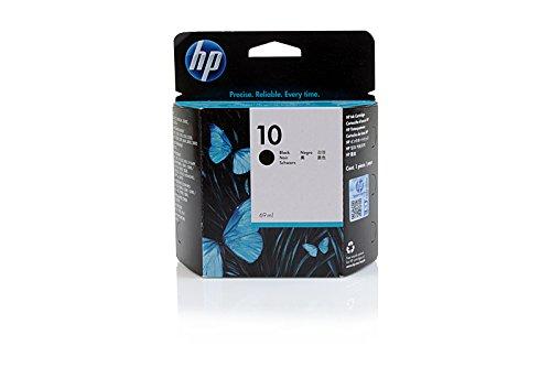 Original Tinte HP 10 , NO 10 , Nr 10C 4844 AE , C4844AE - Premium Drucker-Patrone - Schwarz - 69 ml - 2300-drucker Inkjet-patronen