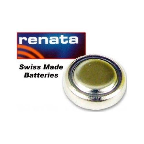 Renata Lot de 2 piles rondes 371 SR920SW 1,55 V Fabrication suisse Argenteac...