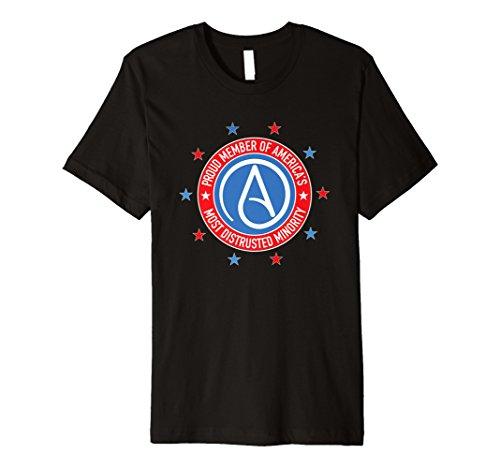UNIVERSUM T-Shirt Atheist Symbol–T-Shirt