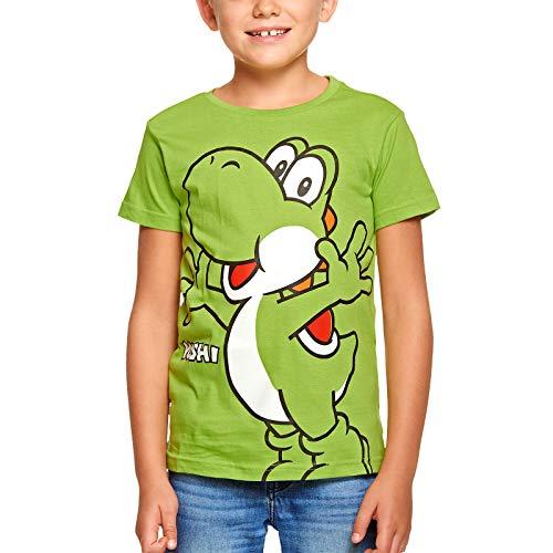 Camiseta Super Mario Kids Yoshi Nintendo Cotton Green - 146/152