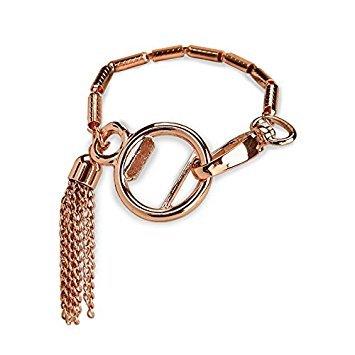 Rose Gold Kupfer Quaste STILVOLL Flaschenöffner Damen Armband