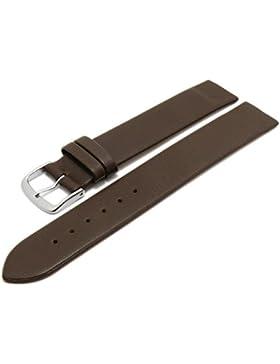 Meyhofer Uhrenarmband Kronach 16mm dunkelbraun Leder Spezialanstoß für verschr. Gehäuse Myfcklb394/16mm/dbraun