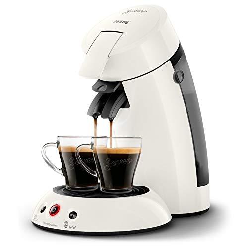 Philips hd6554/11Maschine Kaffeepadmaschine Senseo Original weiß gefrostet 0, 75Liter