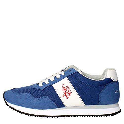 U.s. Polo Assn COMET4145S5/CS1 Sneakers Uomo Camoscio/tessuto BIANCO BIANCO 41