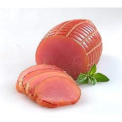 Puten Schinken fettarm auf Buchenholz geräuchert | Geflügel Wurst | Putenlachsfilet | Lendchen | Putenwurst | Gourmet Lachsschinken Pute | 200g