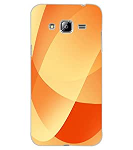ColourCraft Colour Abstract Design Back Case Cover for SAMSUNG GALAXY J3