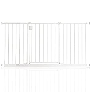 Safetots Extra Wide Hallway Gate White 140cm - 146cm   4