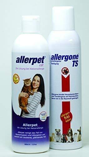 Artikelbild: Allerpet/c & Allergone Textilspray Kombipaket