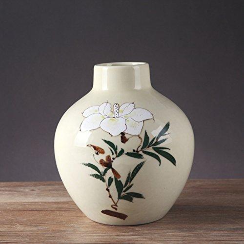 Vase en Céramique Minimaliste Moderne Salon Maison Fleur Creative Plug ZHAOJING (Taille : A)