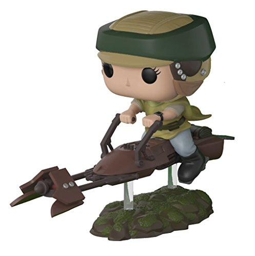 Star Wars Princess Leia Skywalker on Speeder Bike Deluxe Pop! Vinyl Bobble Head (Princess Leia)