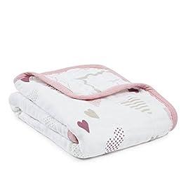 aden mehr Anais Aden Anais–Decke für Kinderwagen Heart Breaker 6093