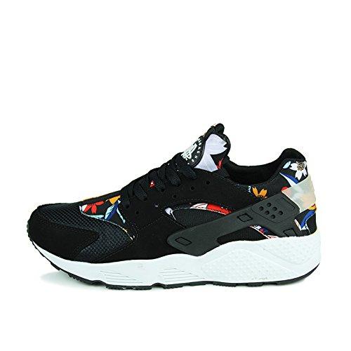 Hommes sport chaussures chaussures de course de Forrest Gump black cloth