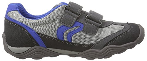 Geox Jr Arno B Jungen Low-Top Grau (GREY/ROYALC0069)