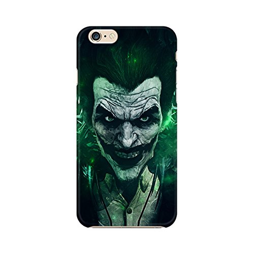 Mobicture Joker Green Premium Printed High Quality Polycarbonate Hard Back Case Cover for Apple iPhone 6/6s With Edge to Edge Printing