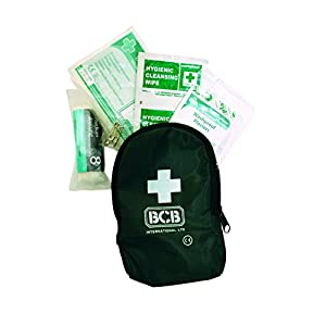 418o591iI6L. SS300  - Bushcraft BCB Personal First Aid Kit - Green