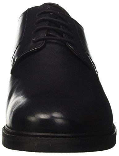 Lumberjack Herren William Derby-Schuhe Nero (Black)