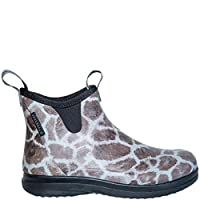 Lacrosse Women Rubberboot Hampton II Giraffe Print Brown