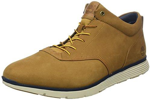 Timberland Herren Killington Klassische Stiefel, Braun (Trapper Tan Nubuck D51), 45.5 EU (Herren Timberland Schuhe Tan)
