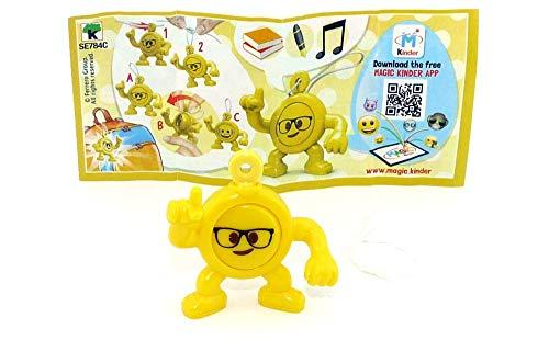 Kinder Überraschung, Emoji Anhänger Brille - Kopfhörer mit Beipackzettel (Kinderjoy Emojoy)