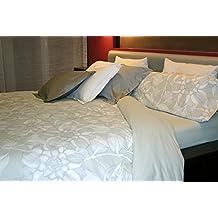 Juego de sábanas Algodón 100% floral DALIA (para cama de 90x190/200)