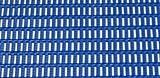 Bodenmatte - mit Rechteck-Hohlprofilen Breite 1000 mm, blau, Preis pro lfd. m - Antirutschmatte Antirutschmatten Bodenbelag Bodenmatte Bodenschutzmatte Gummimatte Industrie-Bodenplatte Industrie-Bodenplatten Industriebodenplatte Industriebodenplatten