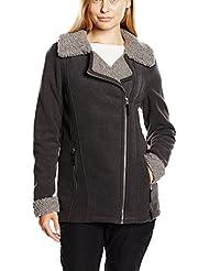 Craghoppers Braidley - Sudadera polar de otoño/invierno para mujer, color gris (charcoal), talla 46 [DE 44]