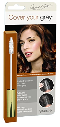 Dynatron Grinda Cover your gray Brush-In Mascara, mittelbraun, 1 Stück