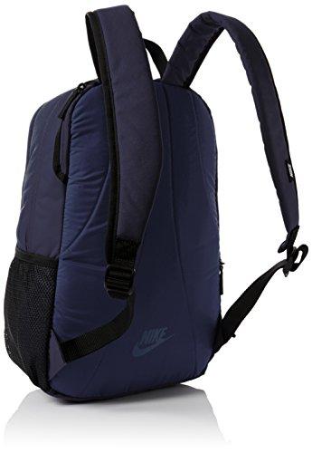 Nike 25 Ltrs Obsidian/Black/Wolf Grey School Backpack (BA4862-452) Image 4