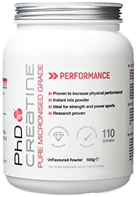 PhD Nutrition Micronised Creatine Supplement by PHDNW