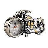 Kreative Qualität Motorrad Uhr Motorrad Muster Alarm Tischuhren Vintage Desktop Uhren Weihnachten Weihnachtsfest Dekor Geschenk